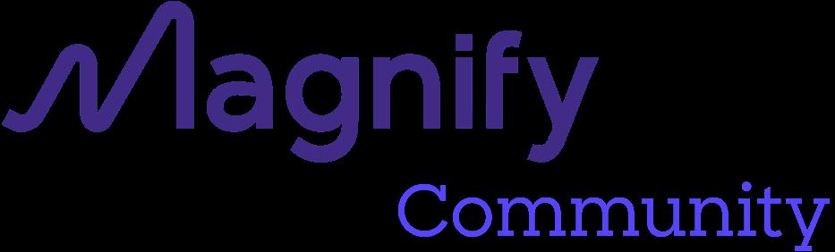 Magnify Community logo